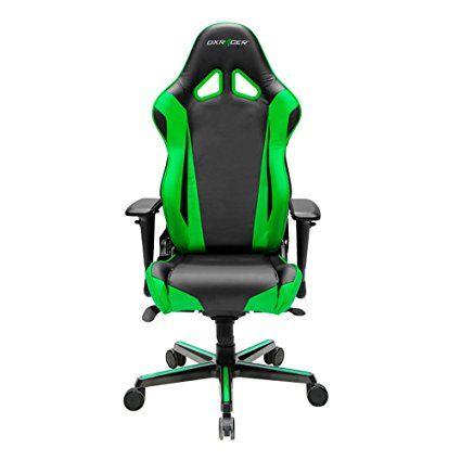 DXRacer Racing Series Newedge Edition Racing Bucket Seat Office Chair  Gaming Chair PVC Ergonomic Computer Chair ESports Desk Chair Executive Chair  With ...