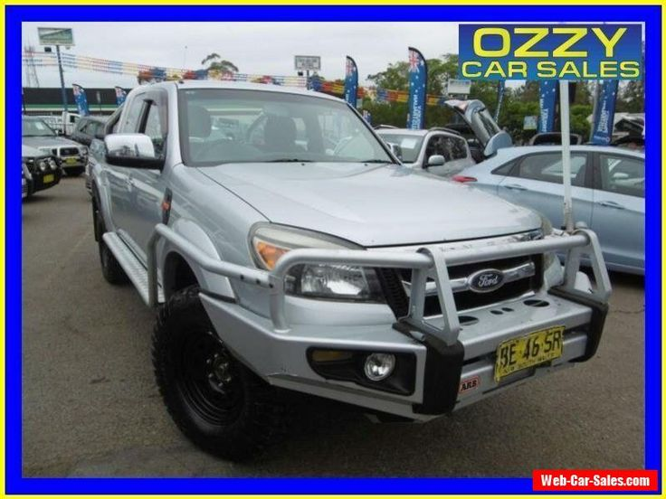 2010 Ford Ranger PK XLT (4x4) Silver Manual 5sp M Super Cab Pick-up #ford #ranger #forsale #australia