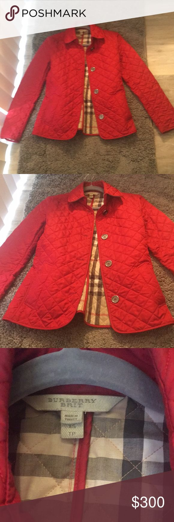 Burberry Brit Jacket Excellent Condition. No damage. Burberry Jackets & Coats