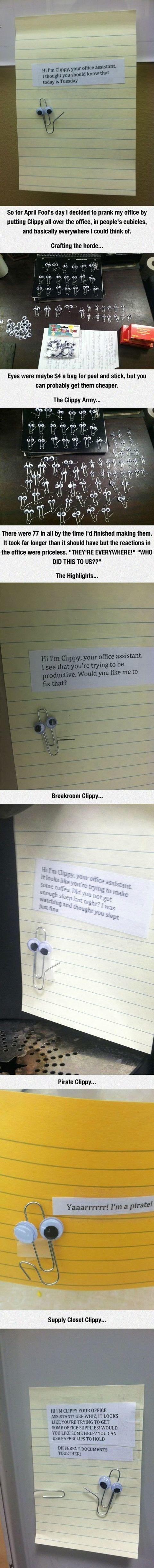 The Clippy Prank