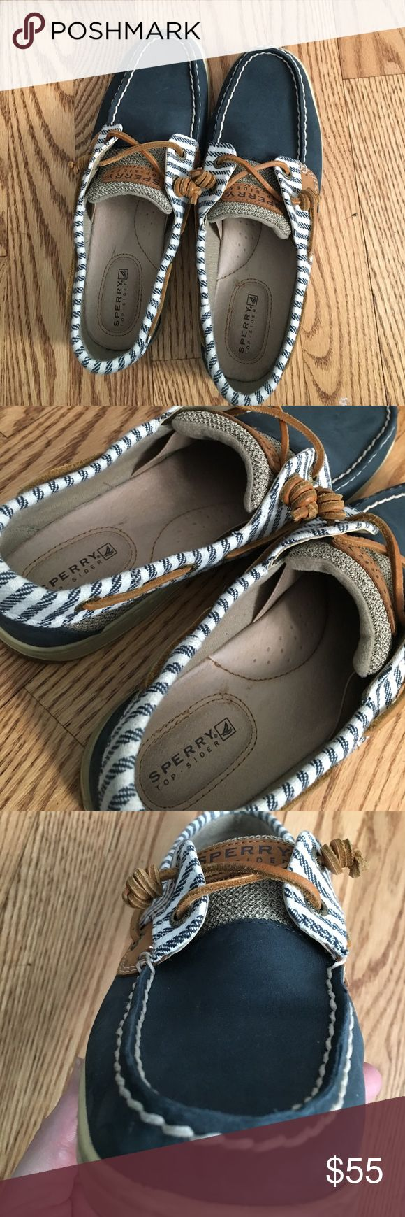 Sperry Top-Sider boat shoes Worn only a small handful of times these are virtually new Sperry Top-Sider womens shoes. Sperry Top-Sider Shoes