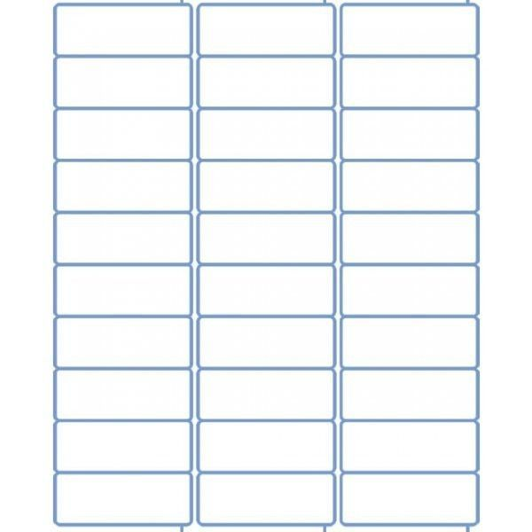 30 Labels Per Sheet Template Elegant Polaroid Mailing Label Template 30 Per Sheet Made By Address Label Template Return Address Labels Template Label Templates