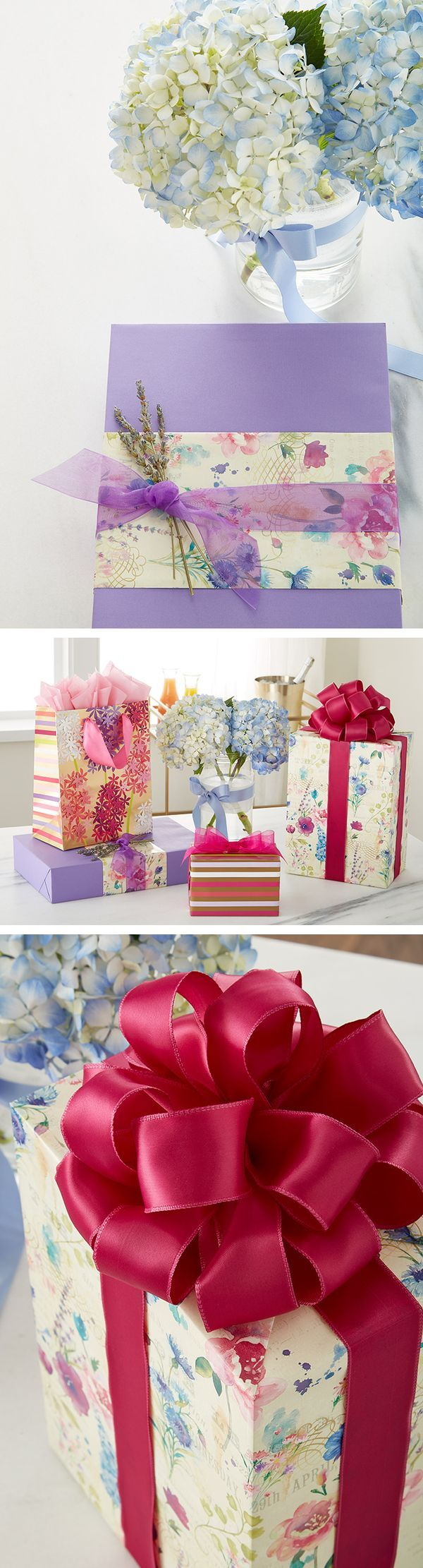 Fresh florals for spring that won't fade with our gift packaging!