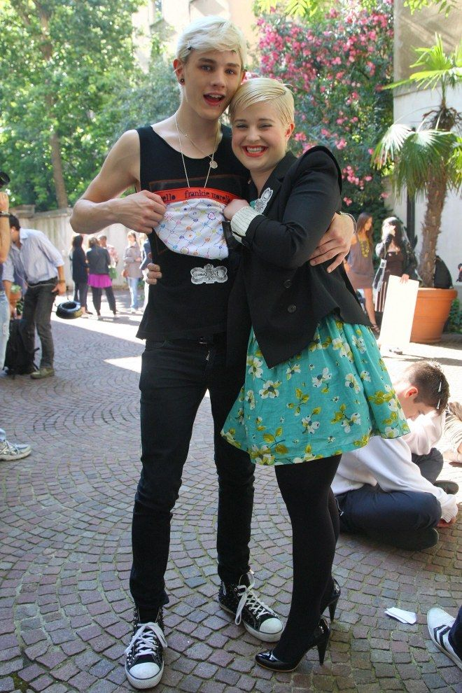 Kelly Osbourne was in a relationship with model Luke Worrall for a year and half and even got engaged when he cheated on her with transgender college student, Elle Schneider.
