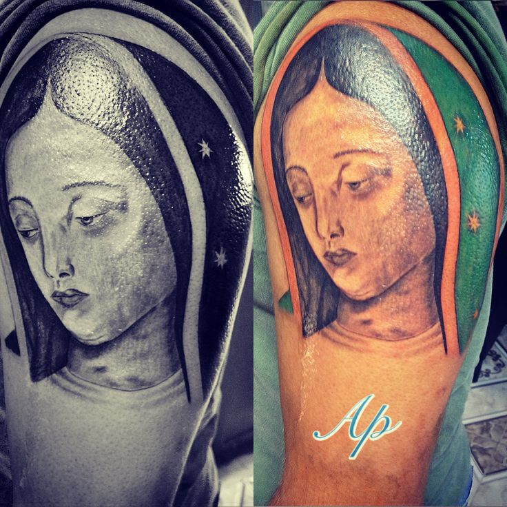 48 best images about tattoo on pinterest scary clowns for Virgen de guadalupe tattoo