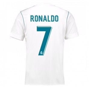 Real Madrid Cristiano Ronaldo 7 Domácí Dres 17-18 Krátký Rukáv