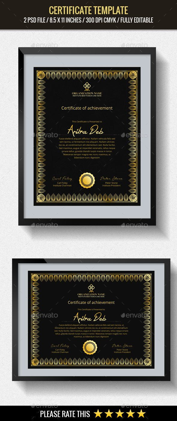 #Multipurpose Certificates Template - #Certificates Stationery Download here:    https://graphicriver.net/item/multipurpose-certificates-template/20430831?ref=alena994