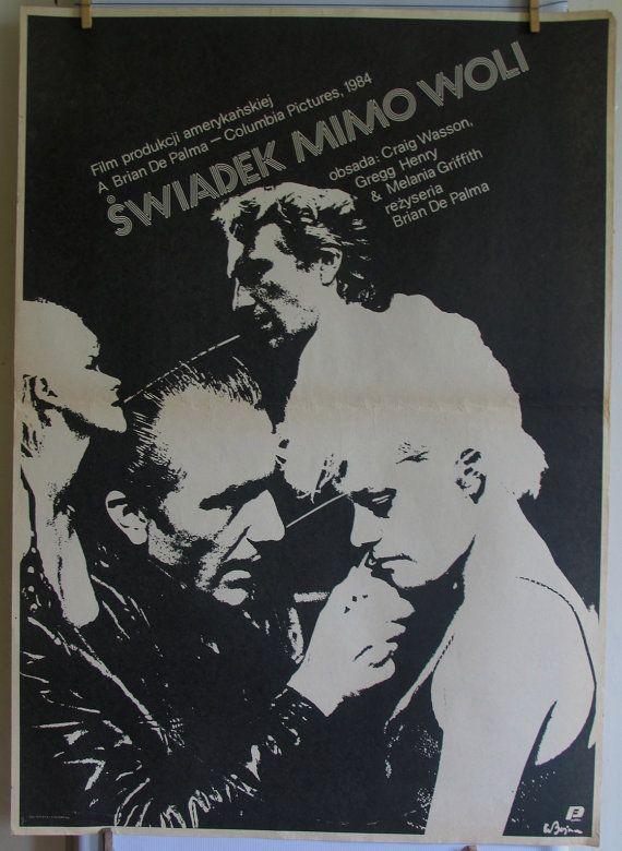 Body Double  USA 1984s film. Dir Brian De Palma. by artwardrobe, $39.00