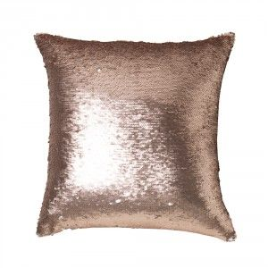 Lennox Bronze Square Cushion by Private Collection