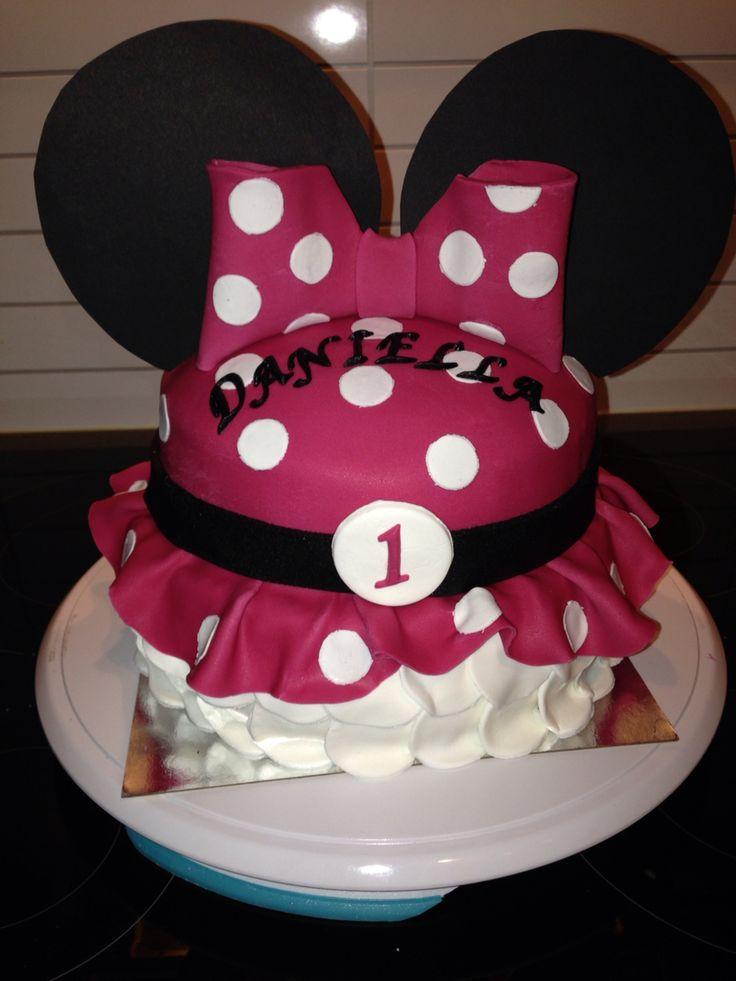 Minnie mouse cake - Minnie mus kake