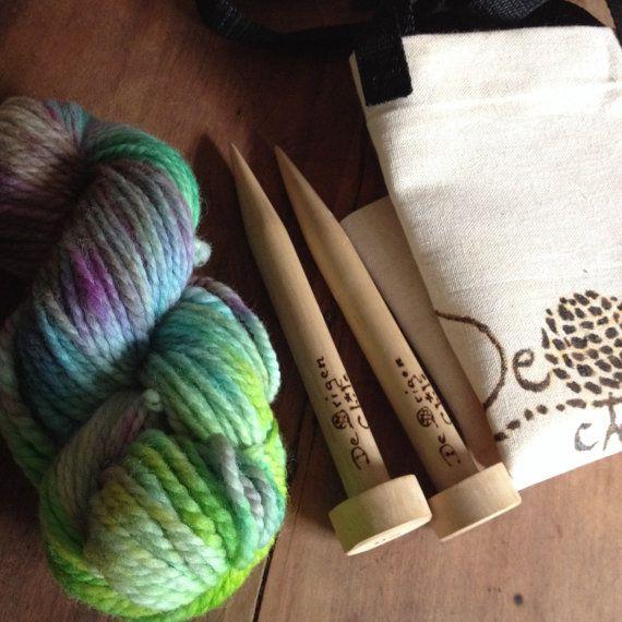 DIY Wool Scarf  by deorigenchile on Etsy