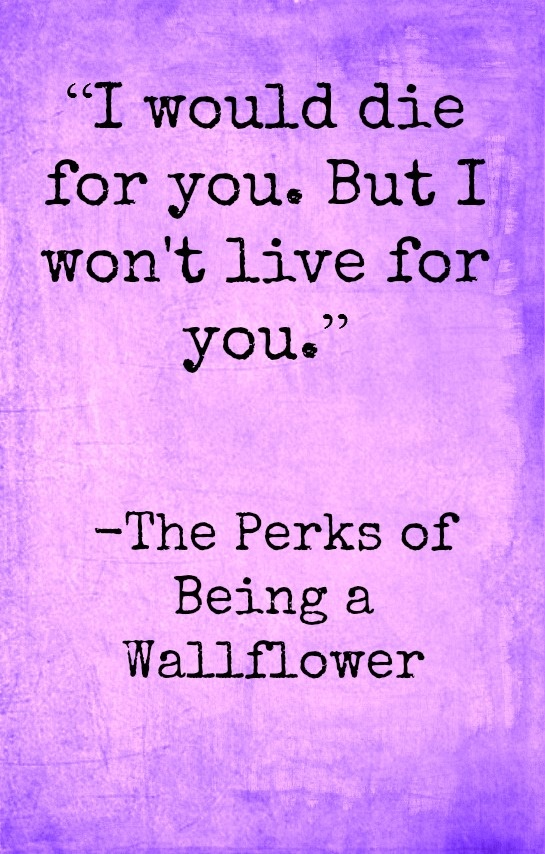 the perks of being a wallflower book essay The perks of being a wallflower is a coming-of-age epistolary novel by american  writer  in that book he wrote the sentence, i guess that's just one of the perks of  being a wallflower, which led him to realize that somewhere in that  was the.