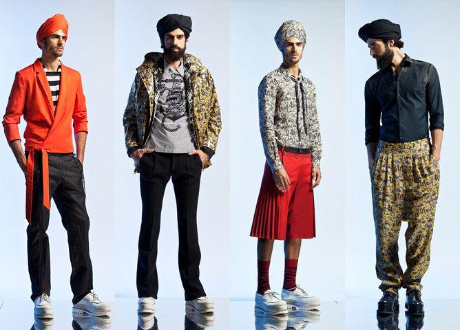 Парижская неделя моды: мужские коллекции весна-лето 2013 - Подиум - Модные показы и fashion-тренды на сайте ИЛЬ ДЕ БОТЭ!