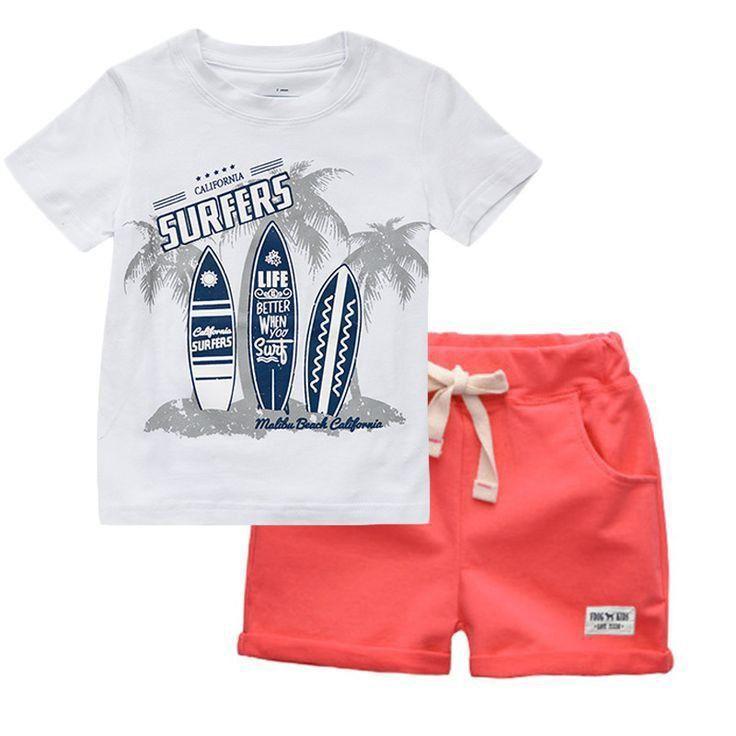 Baby Kleidung,Neugeborene Jungen Cartoon Shark T-Shirt Tops Shorts Hosen Outfits Kleidung Set Kleinkind Bekleidungssets