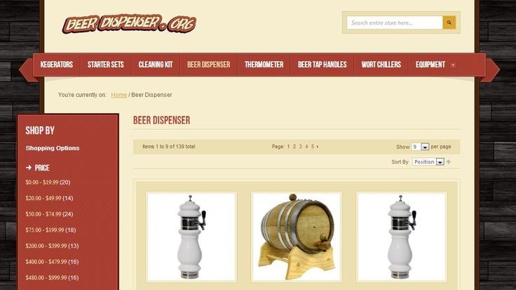 http://beerdispenser.org/beer-dispenser.html