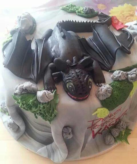 Tandloos taart voorkant