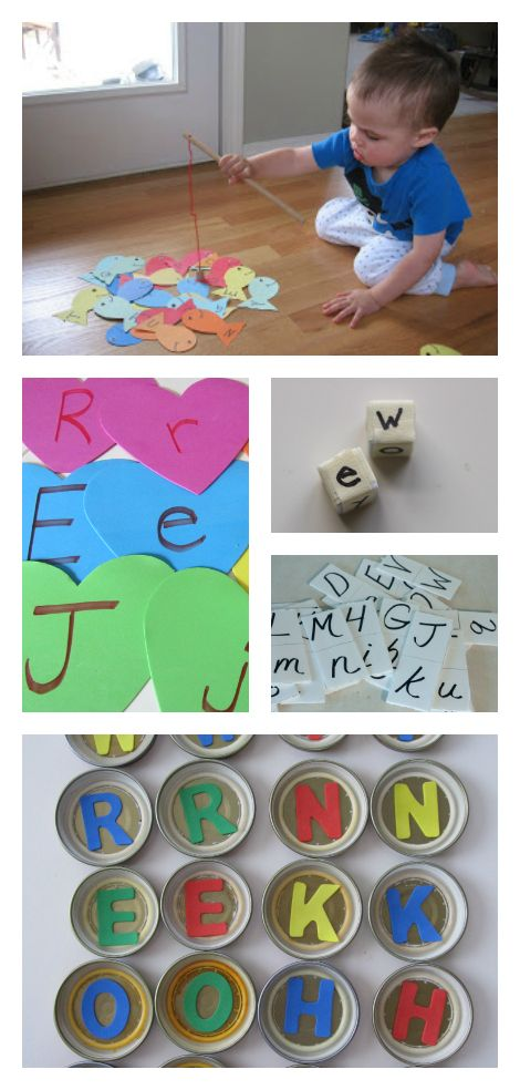 Alphabet activities for kids - more than fifty ideas for preschool and daycare.