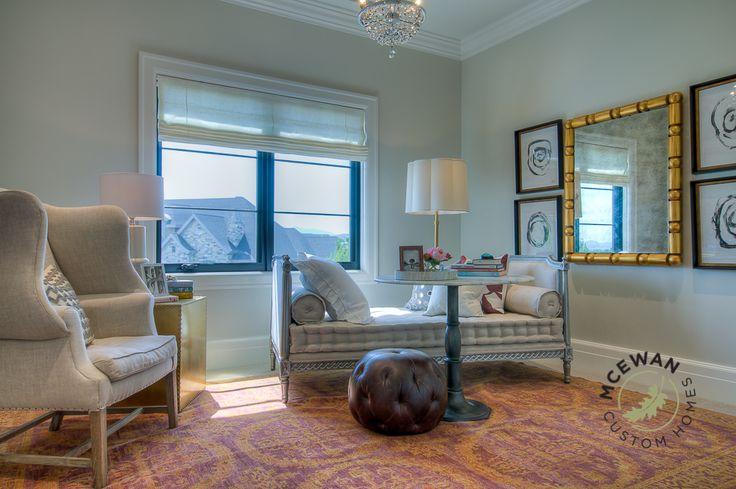 Guest Room l McEwan Custom Homes #mcewancustomhomes #smalldetailsbigdifference #utah #utahhomes #bedroom