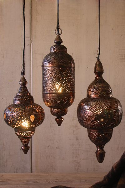 faithfully yours: moroccan lamps