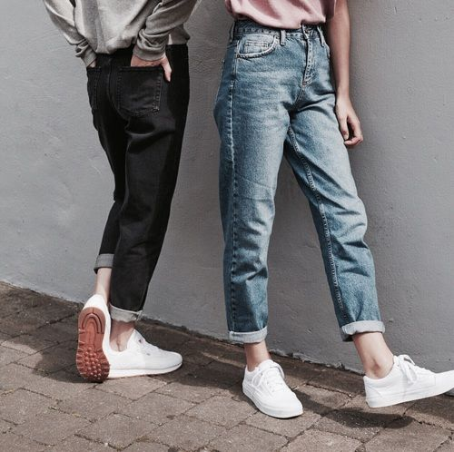fashion, style, and jeans afbeelding