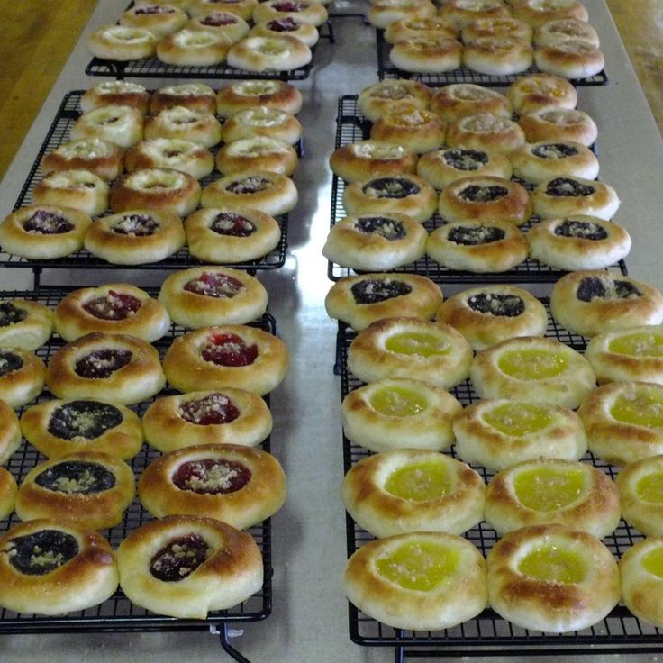 """These are the pastries that are made by the hundreds for the annual Tabor Czech Days in Tabor, SD every year. Everyone has their own """"family"""" recipe, but this is the standard recipe that most of the ladies use. I learned to make these when I was small from my Czech grandmother. This recipe will make about 8 dozen kolache and they freeze well."""