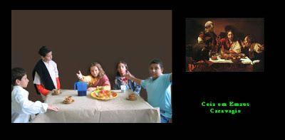 Katauga: Tela VivaReleitura de telas como Telas Vivas trabalho da turma da 5a. Série (2006)