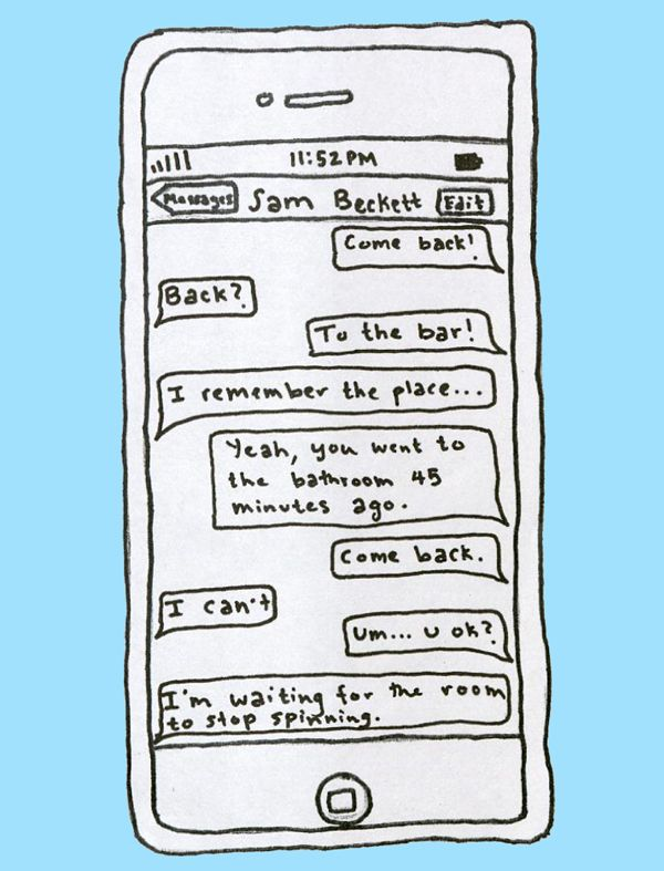 Samuel Beckett - Drunk Texts from Famous Authors