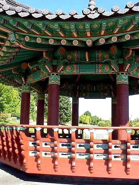 Korean Pagoda at Daejeon Park (Seattle, WA)