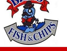 Brit's Fish and chips - gluten free battered fish and chips - very yummy