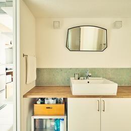 Fargtalの部屋 洗面台