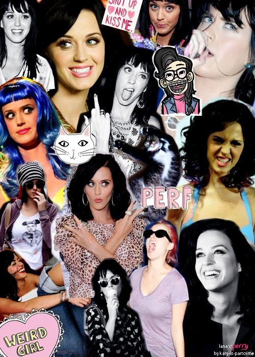 Katy Perry is my idol. I am her #1 FAN. I used to have 2 whole walls just filled with Katy Perry photos, posters, collages, anything to do with Katy Perry. She is so inspiring, caring, kind, loving, sweet, intelligent, strong young women and very compassionate. I LOVE HER SOO MUCH!!