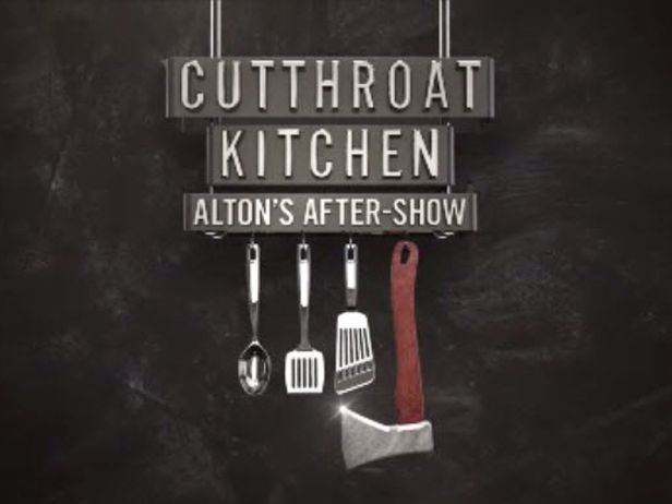 {Alton's After-Show: Since the judges aren't privy to the sabotages that take place during the competition and must judge the chefs' dishes based on flavor alone, Alton fills them in on what went down in each round on his Web series, Alton's After-Show.}