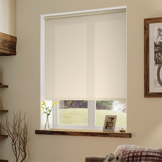 Valencia Simplicity Beige Roller Blind%20from%20Blinds%202go