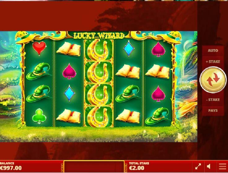 Slot maskinen Lucky Wizard. Se frem til et interessant og underholdende spill  #Slotmaskinen #LuckyWizard