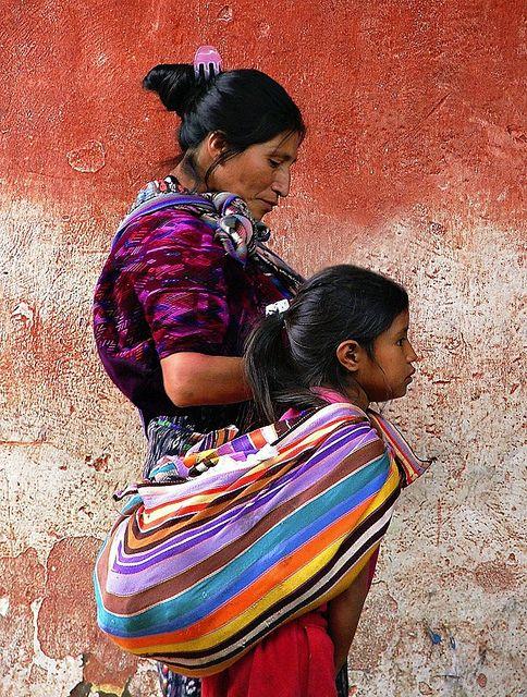 Guatemalan women and their textiles