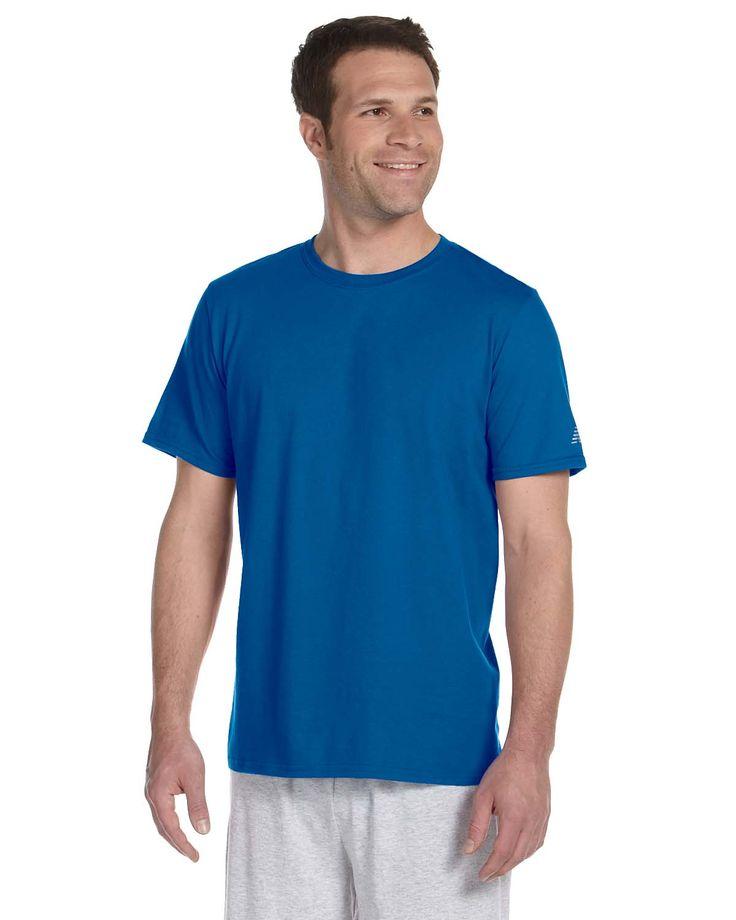 New Balance Mens Ringspun Cotton Crewneck Short Sleeve T-Shirt N4140