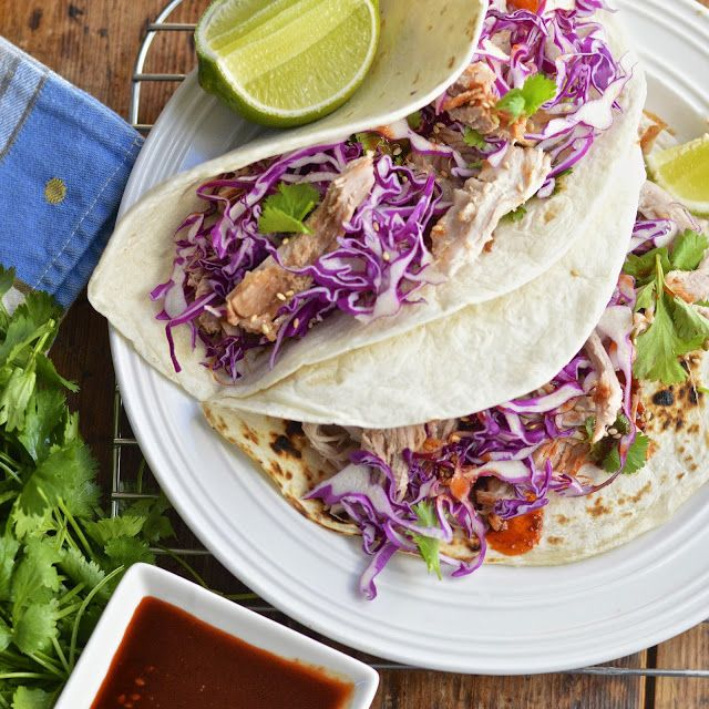 Virtually Homemade: Korean Tacos with Pulled Pork