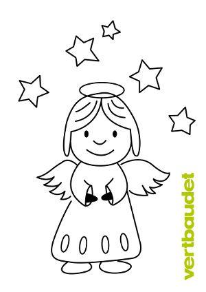engel malvorlage | engel zum ausmalen, malvorlage engel