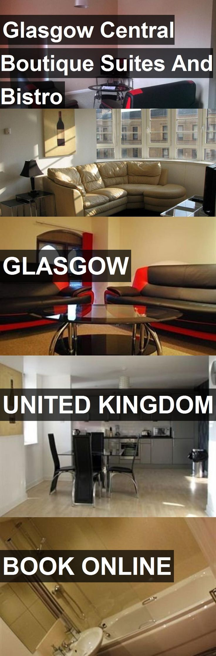Hotel Glasgow Central Boutique Suites And Bistro in Glasgow, United Kingdom. For more information, photos, reviews and best prices please follow the link. #UnitedKingdom #Glasgow #travel #vacation #hotel