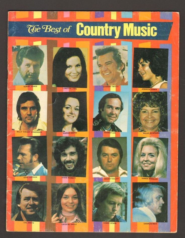 The Best of Country Music Magazine Conway Twitty Loretta Lynn Charlie Rich