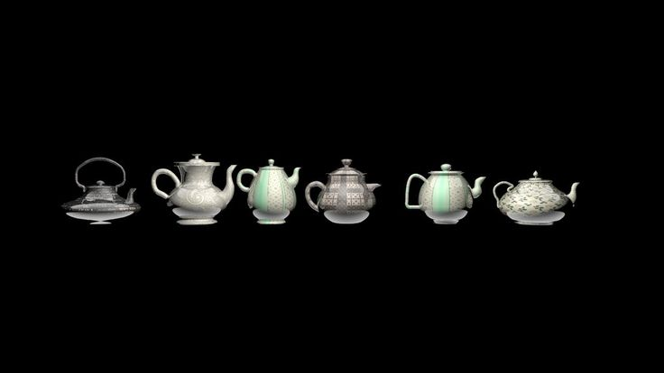 Teapots tea party