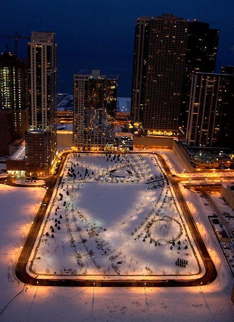 My home!!! I'm repinning this from someone who thought it was an ice rink..which its not..lol