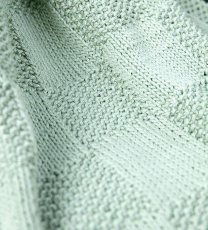 Blocos de sementes cobertor de bebe