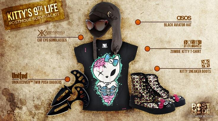 KITTY'S 9th LIFE Survival Kit