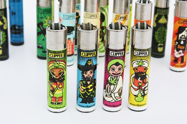 CLIPPER LIGHTERS DESIGN by Sasha Suris, via Behance WEED PRESENTORZ