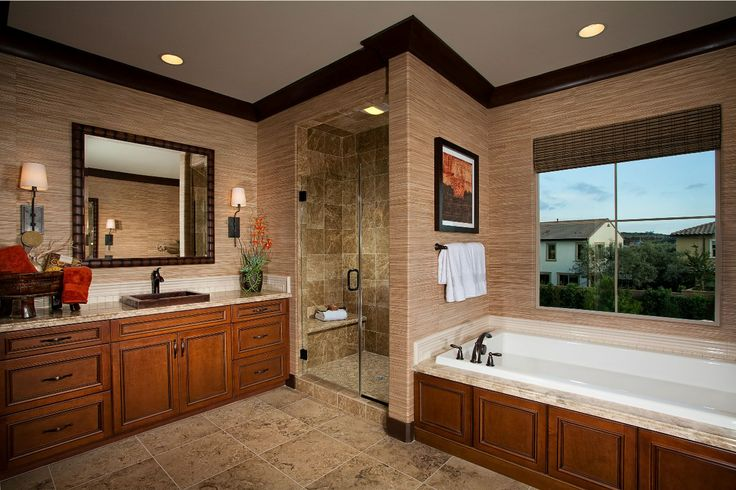 Garden Hill at Portola Springs, Residence 3 Master Bathroom, a KB Home Community in Irvine, CA (Orange County) Want more information? Call (949)272-0125