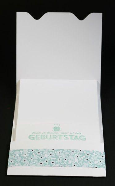 Janas Bastelwelt - Unabhängige Stampin' Up! Demonstratorin: Anleitung: Gutscheinkarte