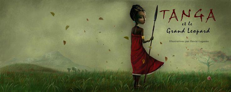 "David Laguens illustration for ""Tanga""."