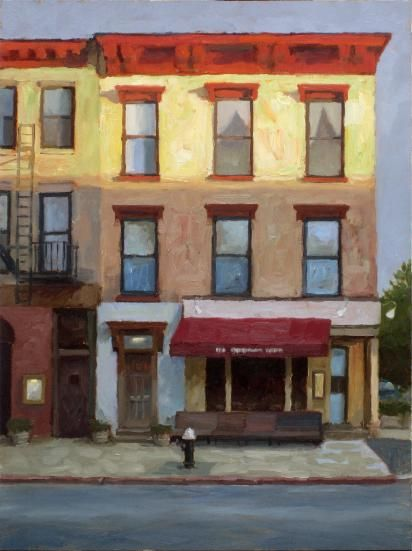 ۩۩ Painting the Town ۩۩ city, town, village & house art - Paul Schulenburg