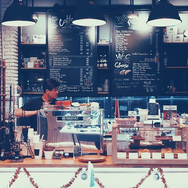 Rocket Rocket everywhere! . # #kopi #coffee #coffeetime #rocketespresso